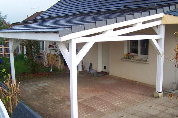 4 Car Garage >> Garage Pergola - Naturellement bois, constructeur de maison bois et extentions dans le sud-ouest ...